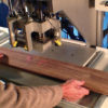Wood repair patching system fills knots and cracks