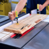 Dovetail clamp and router bit kit combination introduced
